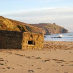 Praa Sands WWII Pill Box | The Little Barn Goldsithney Cornwall