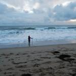 Praa Sands Silhouette | The Little Barn Goldsithney Cornwall